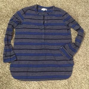 Blue stripped Old Navy Tunic Large